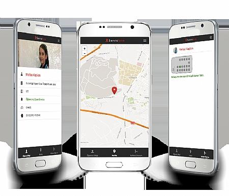 Mobil servis uygulaması ile sahadan haberiniz olsun